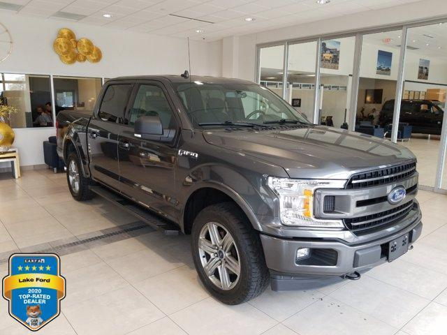 used 2018 Ford F-150 car, priced at $39,495