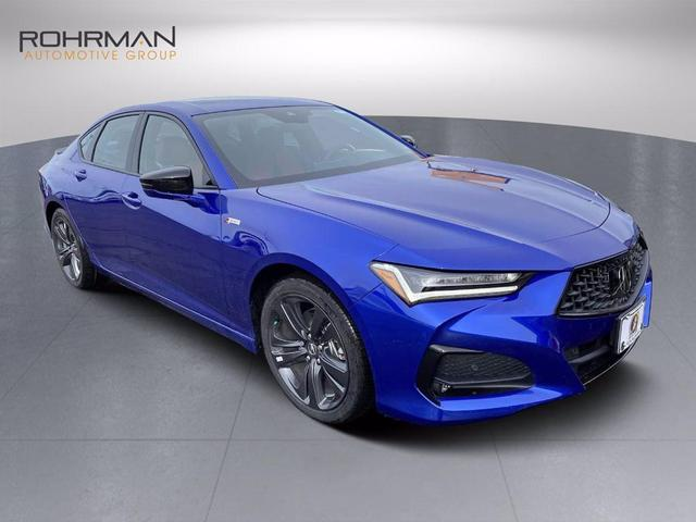 new 2021 Acura TLX car, priced at $44,750