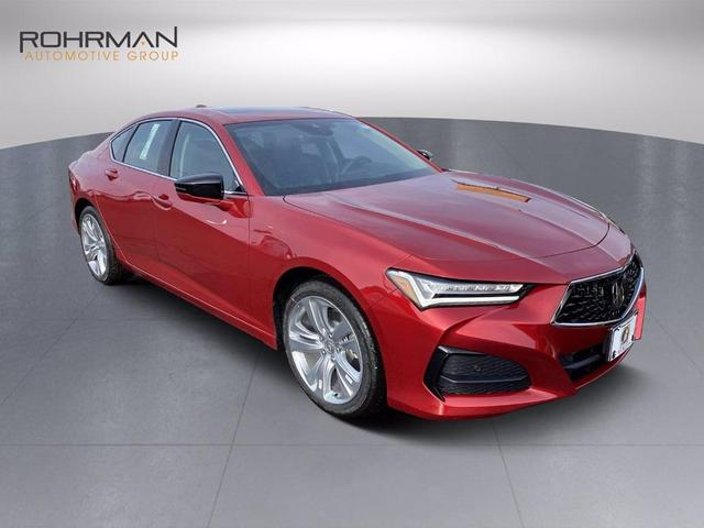 new 2021 Acura TLX car, priced at $44,000