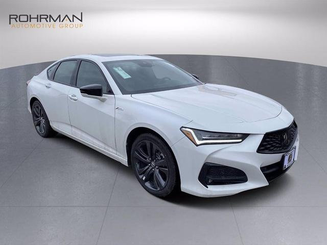 new 2021 Acura TLX car, priced at $46,750