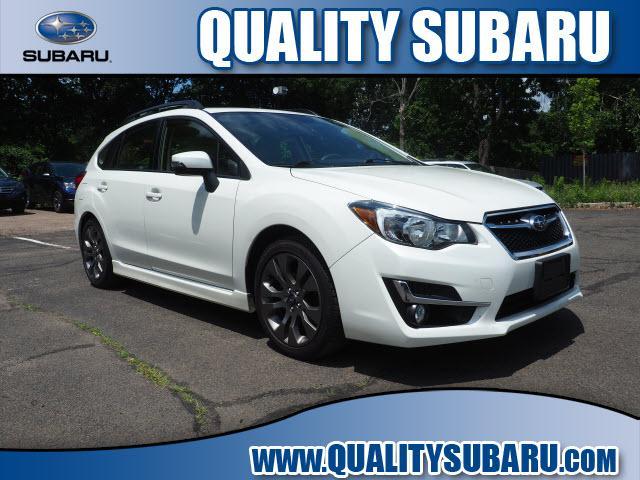 used 2016 Subaru Impreza car, priced at $15,999