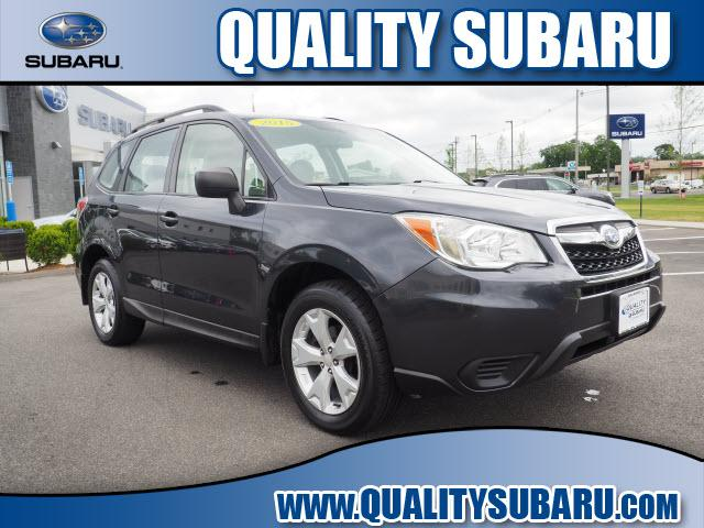 used 2015 Subaru Forester car, priced at $13,595