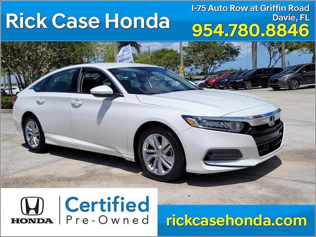 used 2020 Honda Accord car, priced at $23,553