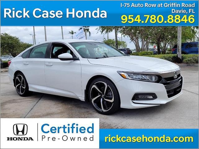 used 2020 Honda Accord car, priced at $25,830