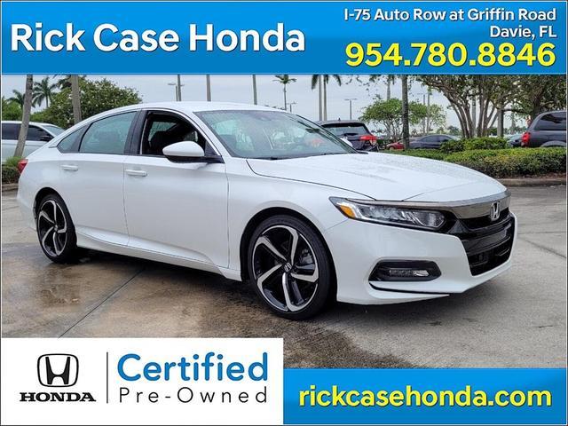 used 2020 Honda Accord car, priced at $27,889
