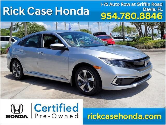 used 2020 Honda Civic car, priced at $20,407