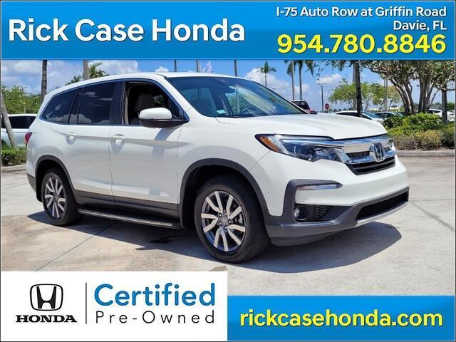 used 2019 Honda Pilot car, priced at $31,968