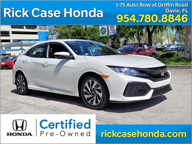 used 2019 Honda Civic car, priced at $20,700