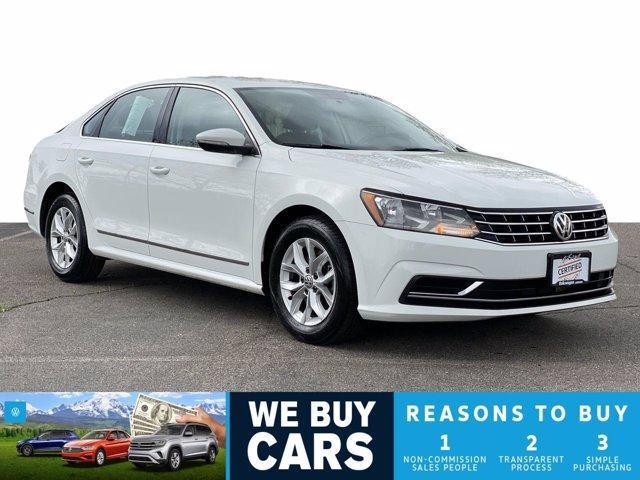 used 2017 Volkswagen Passat car, priced at $18,598