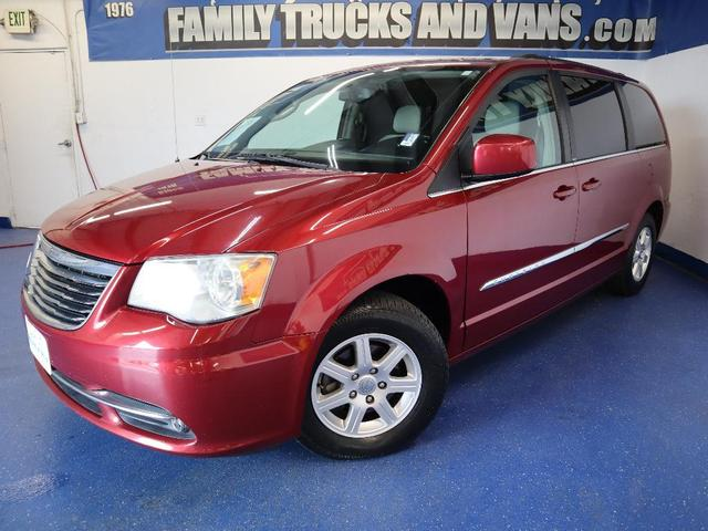 used 2011 Chrysler Town & Country car, priced at $9,337