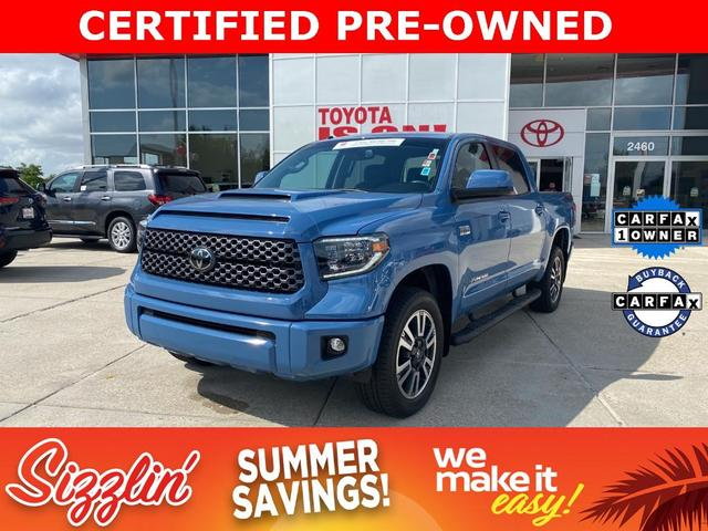 used 2019 Toyota Tundra car, priced at $56,599