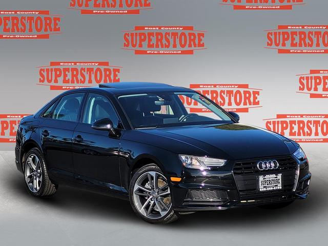 used 2019 Audi A4 car, priced at $27,999