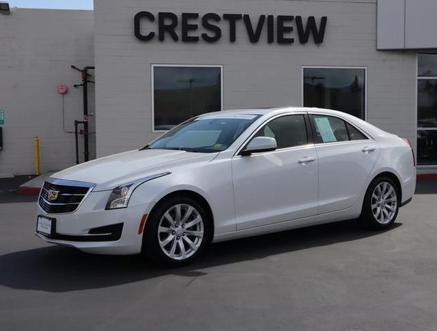 used 2018 Cadillac ATS car, priced at $23,943