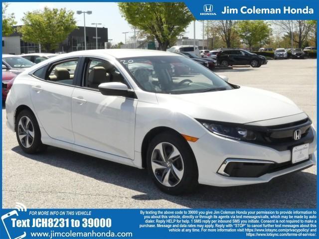 new 2020 Honda Civic car, priced at $21,755