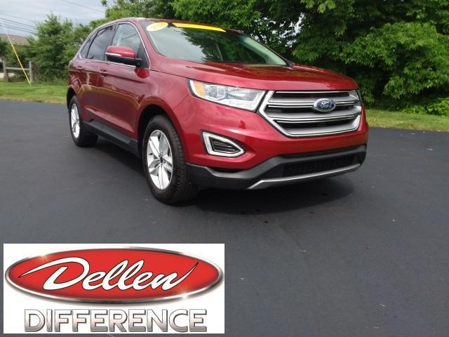 used 2018 Ford Edge car, priced at $24,974