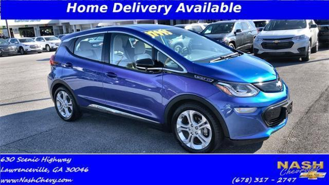 used 2017 Chevrolet Bolt EV car, priced at $22,000