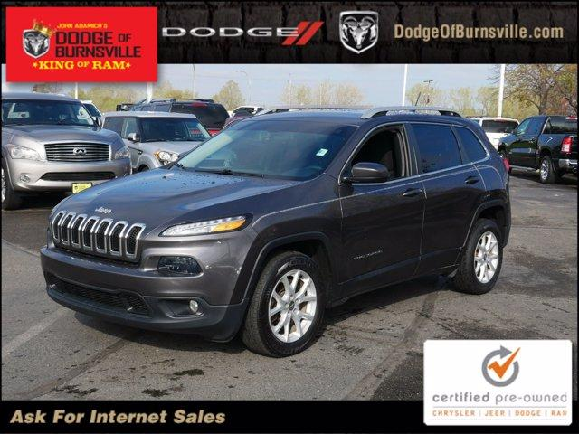 used 2017 Jeep Cherokee car, priced at $16,400