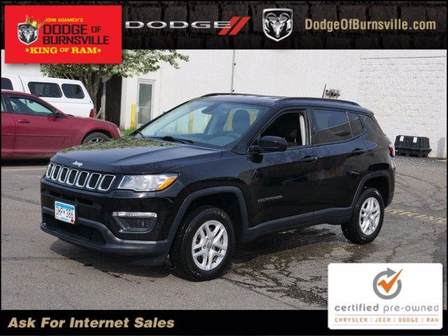 used 2018 Jeep Compass car, priced at $17,800