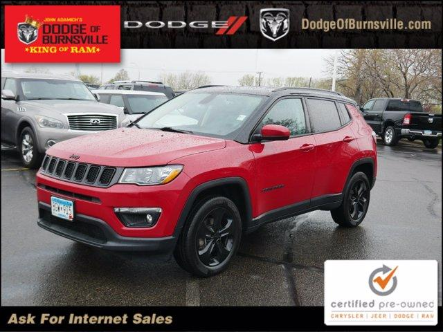 used 2018 Jeep Compass car, priced at $21,900