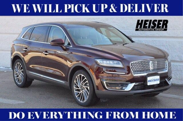 new 2020 Lincoln Nautilus car, priced at $47,722