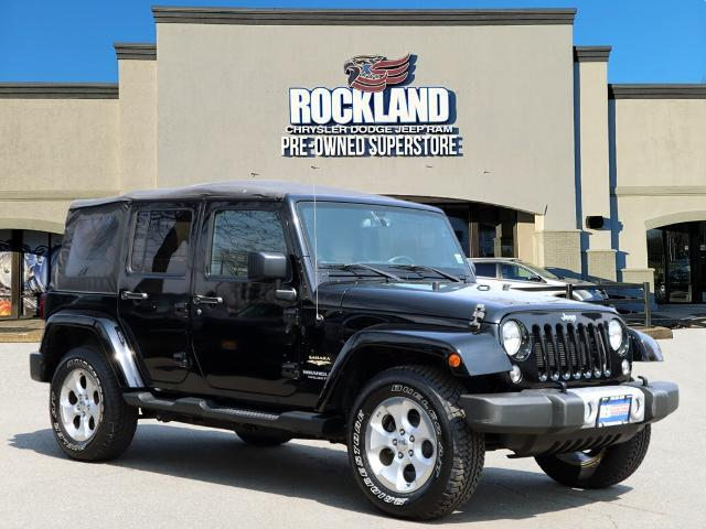 used 2015 Jeep Wrangler Unlimited car, priced at $29,500