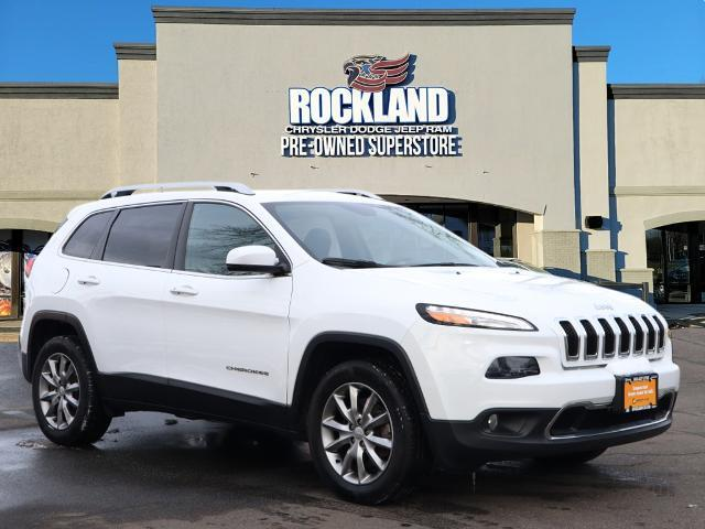 used 2018 Jeep Cherokee car, priced at $23,500