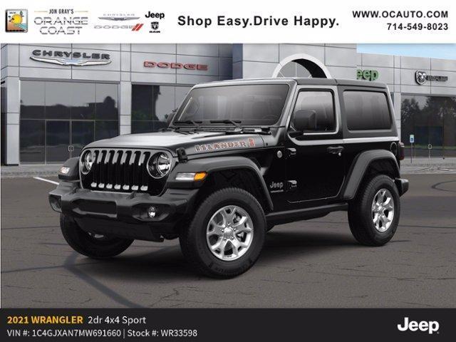 new 2021 Jeep Wrangler car