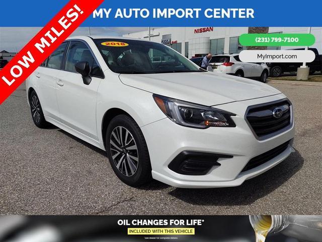 used 2018 Subaru Legacy car, priced at $21,500