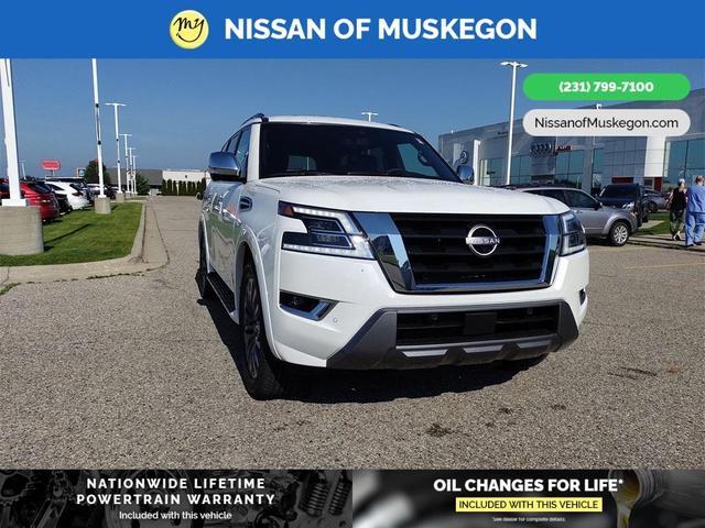 new 2021 Nissan Armada car, priced at $71,505