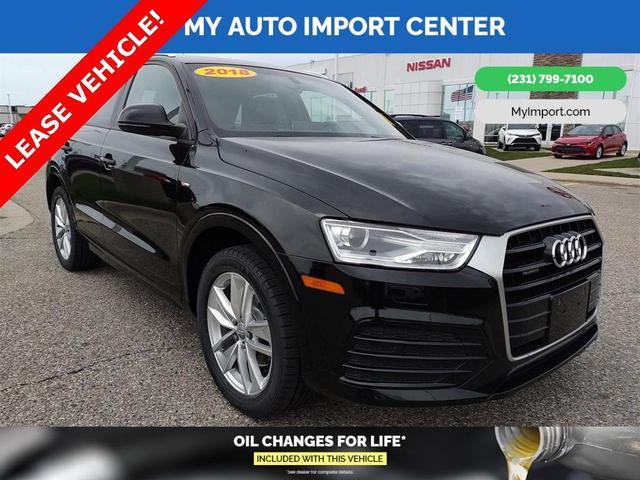 used 2018 Audi Q3 car, priced at $28,500