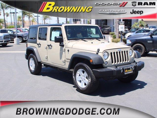 used 2018 Jeep Wrangler JK Unlimited car, priced at $35,988