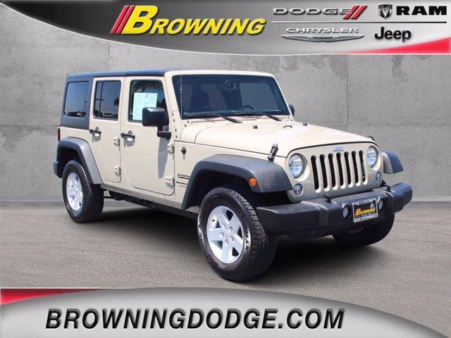 used 2018 Jeep Wrangler JK Unlimited car, priced at $35,373