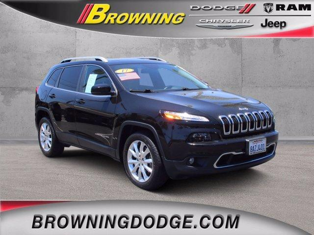 used 2017 Jeep Cherokee car, priced at $20,964