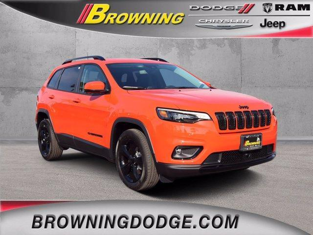 new 2021 Jeep Cherokee car, priced at $31,760