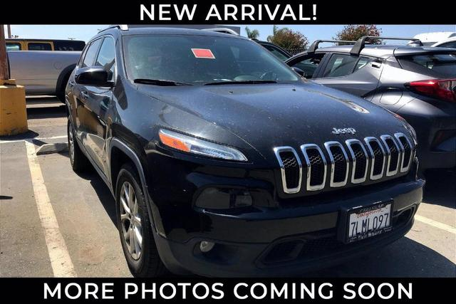 used 2015 Jeep Cherokee car, priced at $13,981