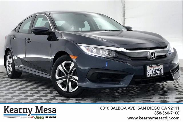used 2018 Honda Civic car, priced at $18,991