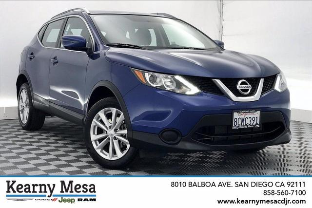 used 2017 Nissan Rogue Sport car, priced at $17,881