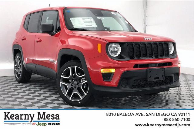 new 2021 Jeep Renegade car, priced at $23,485