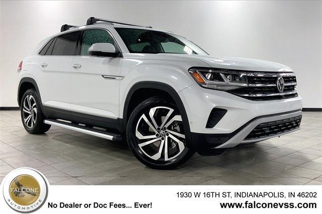 new 2021 Volkswagen Atlas Cross Sport car, priced at $48,317