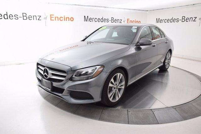 used 2018 Mercedes-Benz C-Class car, priced at $31,997