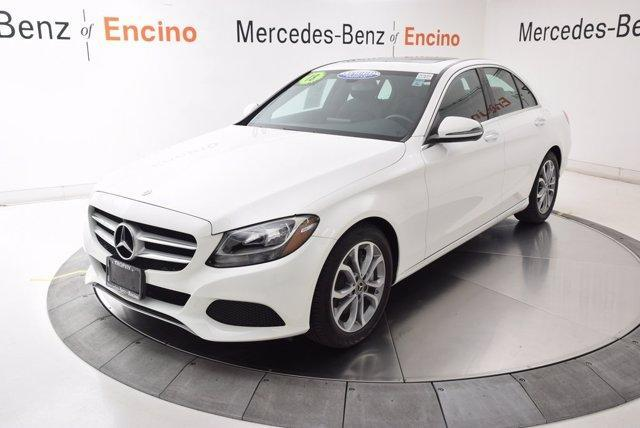 used 2018 Mercedes-Benz C-Class car, priced at $30,997