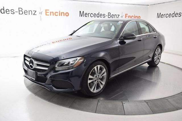 used 2018 Mercedes-Benz C-Class car, priced at $30,298