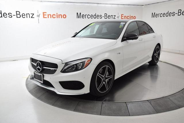 used 2017 Mercedes-Benz AMG C 43 car, priced at $38,498