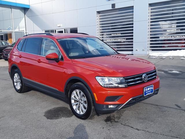 used 2018 Volkswagen Tiguan car, priced at $19,688