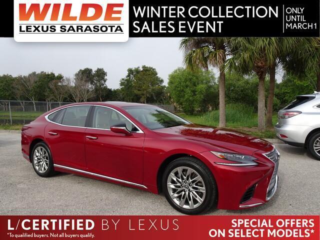 used 2019 Lexus LS 500 car, priced at $65,411