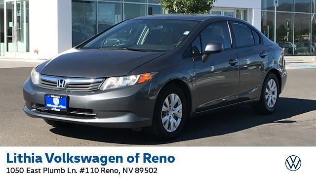 used 2012 Honda Civic car, priced at $11,995