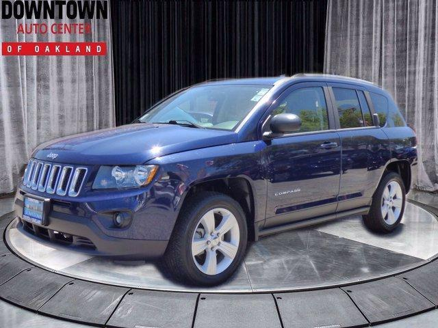 used 2016 Jeep Compass car, priced at $14,995