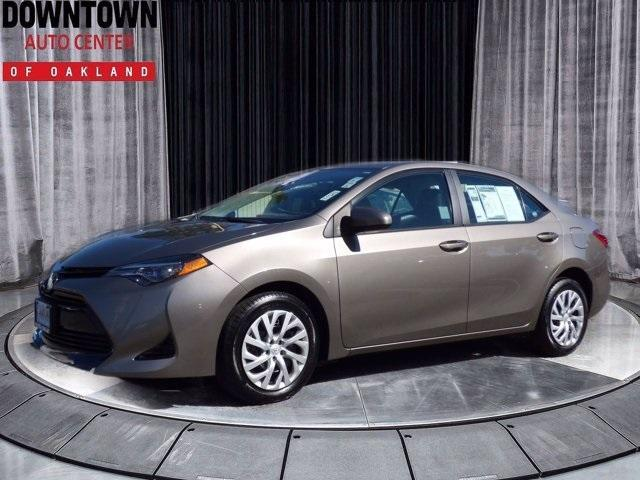 used 2018 Toyota Corolla car, priced at $17,995