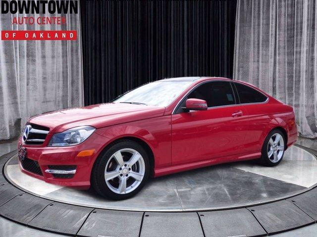 used 2015 Mercedes-Benz C-Class car, priced at $17,995