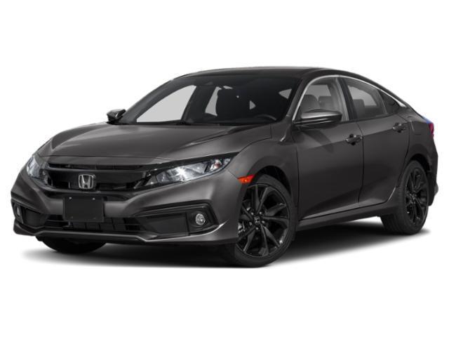 new 2020 Honda Civic car, priced at $22,068